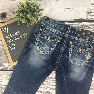 Miss Me Jeans - Bootcut - 28 x 33